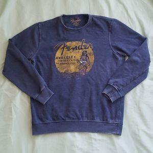 Lucky Brand Fender Ukelele Sweater